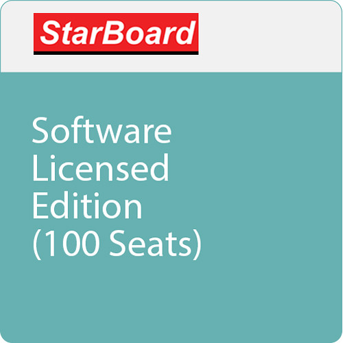 StarBoard Solution Software Licensed Edition (100 Seats)