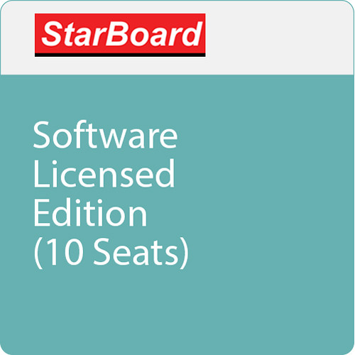 StarBoard Solution Software Licensed Edition (10 Seats)