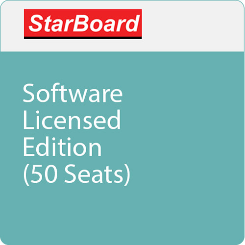 StarBoard Solution Software Licensed Edition (50 Seats)