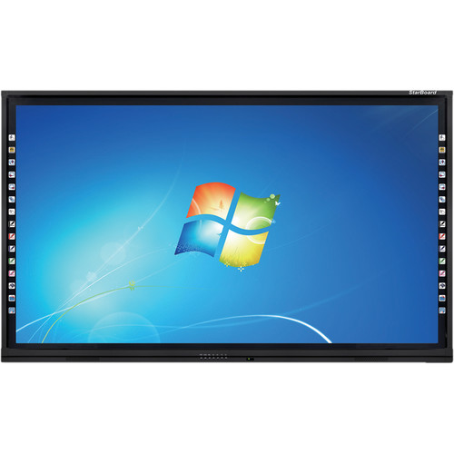 "StarBoard Solution 75"" UHD Interactive Flat Panel LED Display"