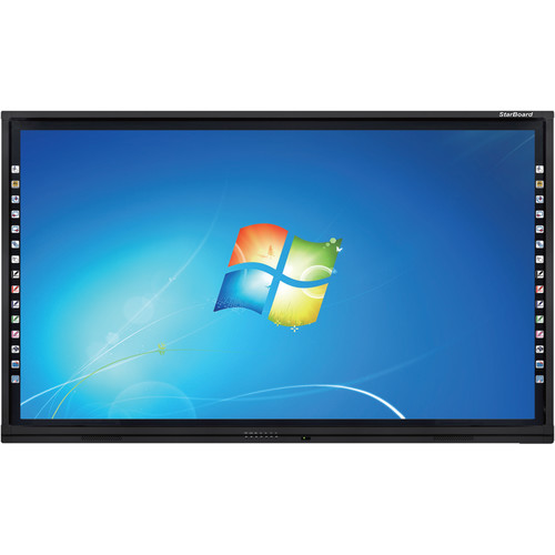 """StarBoard Solution 86"""" UHD Interactive Flat Panel LED Display"""