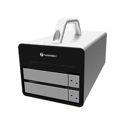 STARDOM Sohoraid DR2-TB2 2-Bay Thunderbolt 2 RAID Enclosure (Silver)