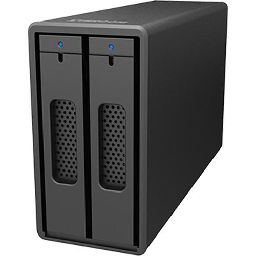 STARDOM SOHORAID 2-Bay RAID Storage Enclosure (Black)