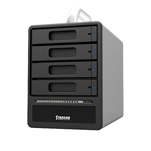 STARDOM SOHOTANK 4-Bay USB 3.0/eSATA RAID Enclosure