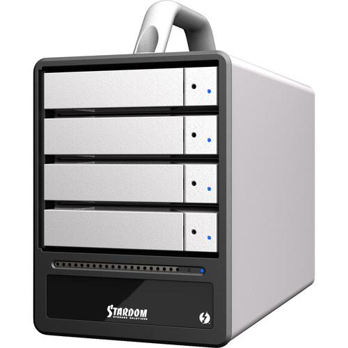 STARDOM SOHOTANK 4-Bay Thunderbolt 2 RAID Enclosure