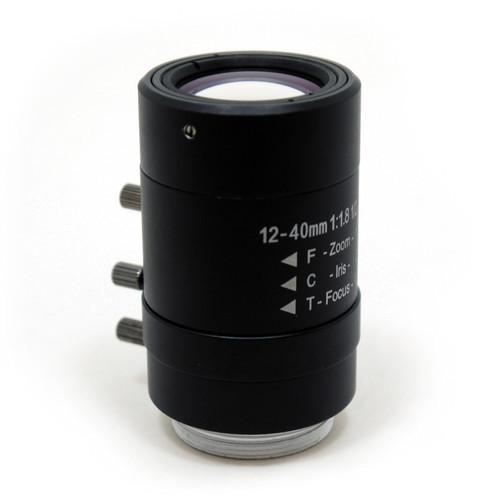 STARDOT CS-Mount 12-40mm f/1.8 Day/Night Manual Iris Varifocal Lens