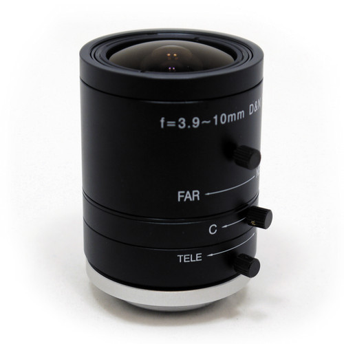 STARDOT CS-Mount 3.9-10mm f/1.8-Close Day/Night Varifocal Lens