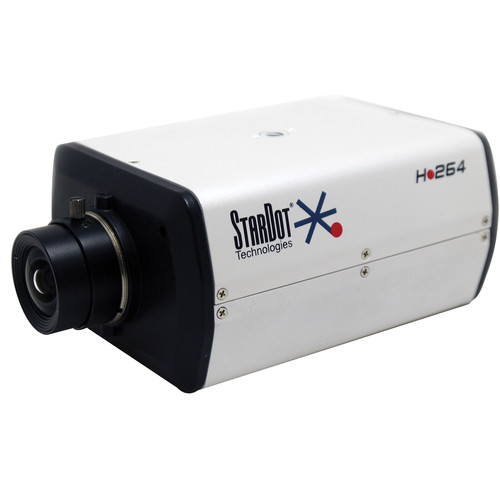 STARDOT SDH Series SDHM200B 1080p 2MP Color Box Camera with 4 to 10mm Varifocal Lens