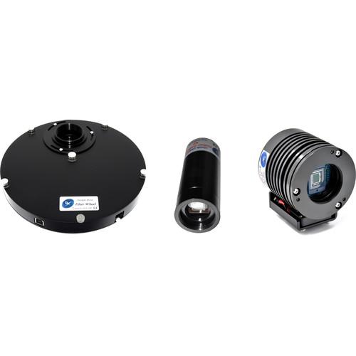 Starlight Xpress Trius SX-674 CCD Camera with SXMFW-1T Mini Filter Wheel and Lodestar X2