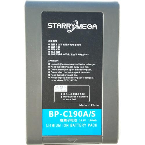StarryMega 190Wh 14.8V Anton Bauer Gold Mount Battery