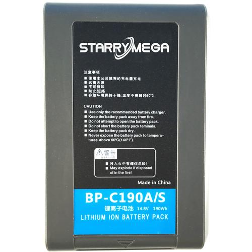 StarryMega 190Wh 14.8V Sony V-Mount Battery