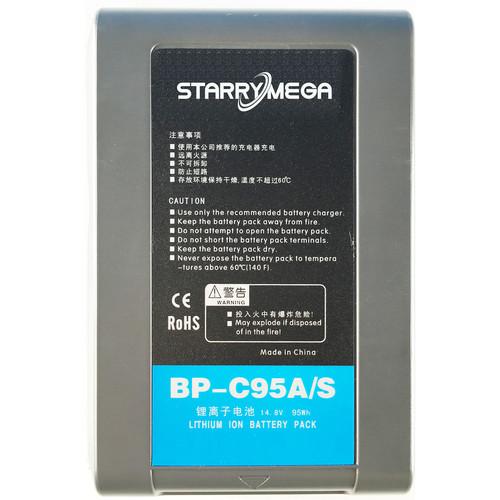 StarryMega 95Wh 14.8V Anton Bauer Gold Mount Battery