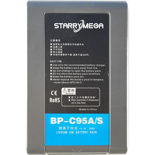 StarryMega 95Wh 14.8V Sony V-Mount Battery