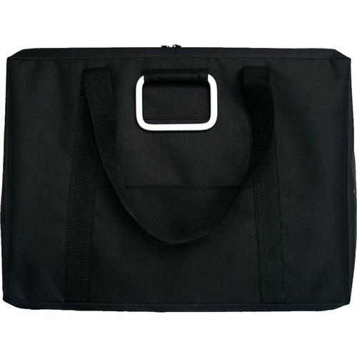 "Start by Prat Urban Portfolio with Internal Zippered Pencil Case 20x26x2.5"" (Black)"
