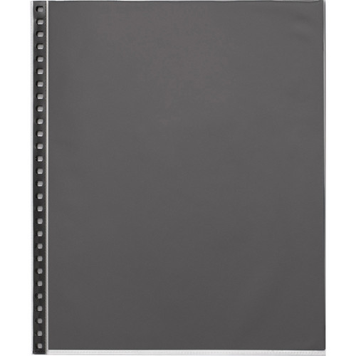 "Start by Prat Sheet Protector Refill Pages for Start Spiral Books (8.5x11"", 10 Sheets)"