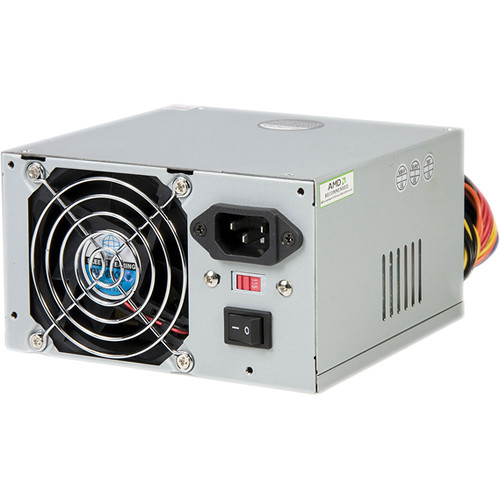 StarTech 400 Watt ATX12V 2.01 Computer PC Power Supply with 20/24 Pin Connector
