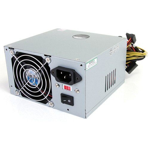 StarTech 450 Watt ATX12V 2.01 Computer PC Power Supply with 20/24 Pin Connector