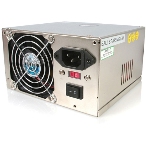 StarTech Professional 450 Watt ATX12V 2.01 Computer Power Supply with PCIe and SATA