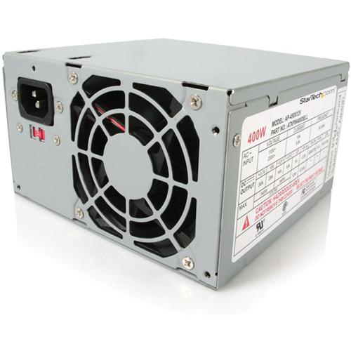 StarTech 400 Watt ATX12V 2.01 Dell Replacement Computer PC Power Supply