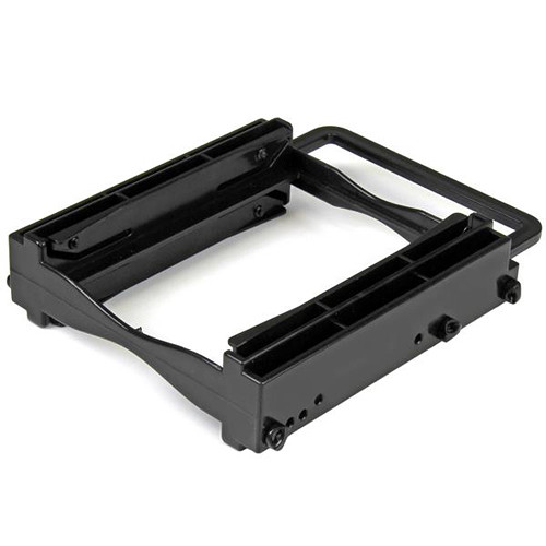 "StarTech Dual 2.5"" SSD/HDD Mounting Bracket for 3.5"" Drive Bay (Tool-Less Installation)"