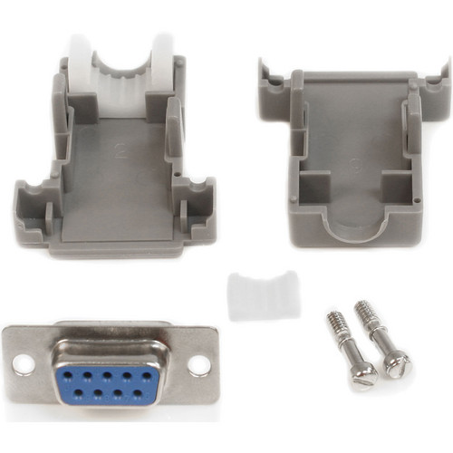 StarTech C9PSF Assembled DB9 Female Solder D-SUB Connector (Gray)