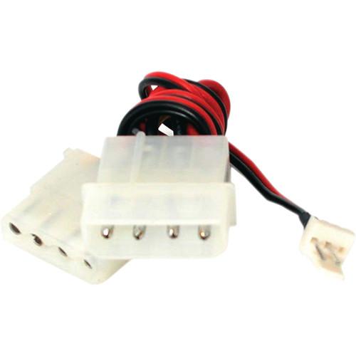 """StarTech TX3 to LP4 Power Y Splitter Fan Adapter Cable (12"""")"""