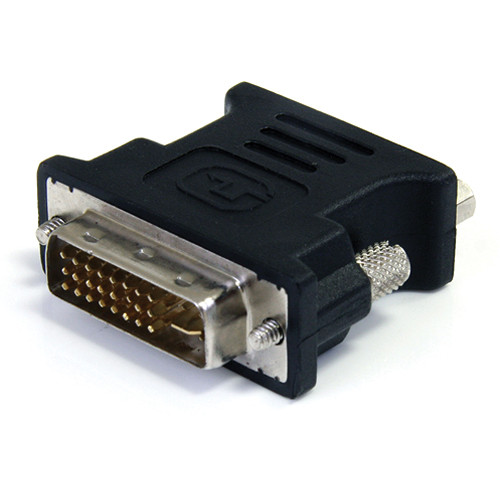 StarTech DVI-I Male to VGA Female Cable Adapter (Black)