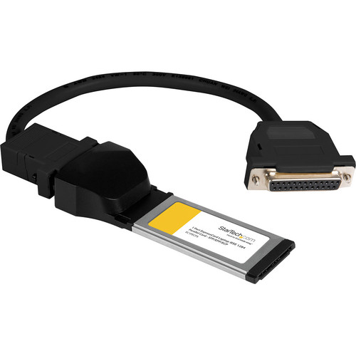 StarTech 1-Port ExpressCard/34 Laptop Parallel Adapter Card