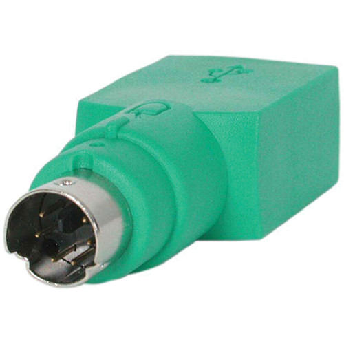 StarTech Replacement USB Mouse Female to PS/2 Male Adapter (Green)