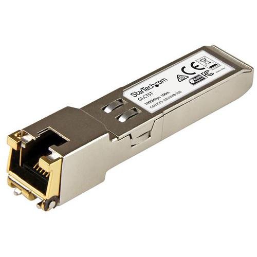 StarTech Gigabit RJ-45 Copper SFP Transceiver Module (Cisco GLC-T Compatible)