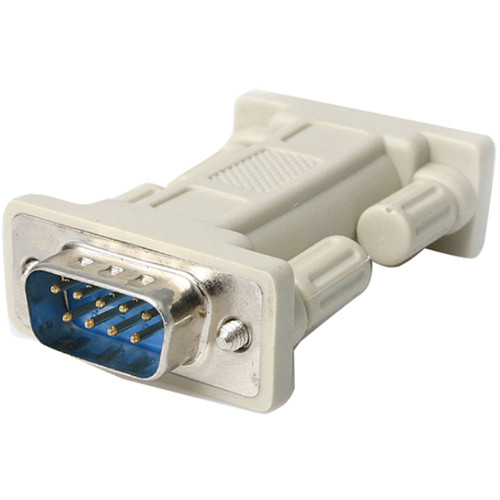 StarTech DB9 RS232 Serial Male to Male Null Modem Adapter