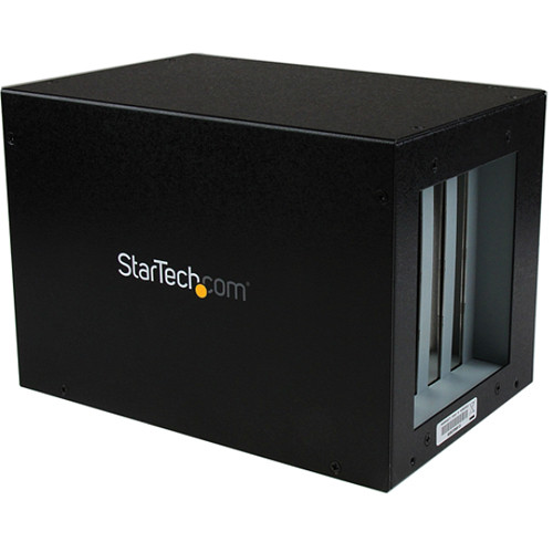 StarTech PCIe to 4-Slot PCI Expansion System (Black)