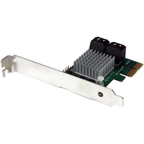 StarTech Startech.Com 4 Port PCI Express 2.0 Sata Iii 6GBPS Raid Controller Card With Hyperduo SSD Tiering