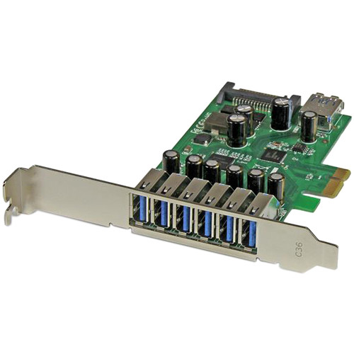 StarTech 7-Port USB 3.0 PCI Express 2.0 x1 Card