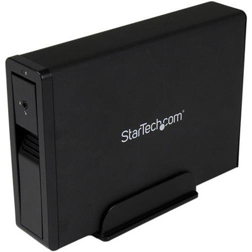 "StarTech 3.5"" SATA III 6 Gbps External Trayless Hard Drive Enclosure with USB 3.0 & eSATA Interface"