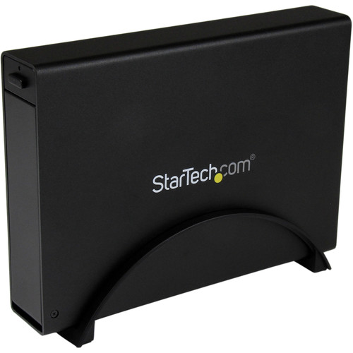 "StarTech USB 3.0 Tray-less 3.5"" SATA III Hard Drive Enclosure with UASP (Black)"