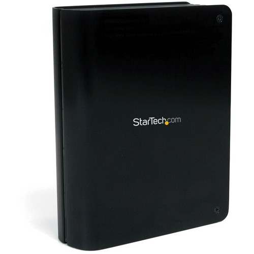 "StarTech 3.5"" SuperSpeed USB 3.0 SATA Hard Drive Enclosure with Fan (Black)"
