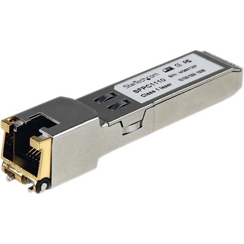 StarTech Cisco Compatible Gigabit RJ-45 Mini-GBIC Copper SFP Transceiver Module