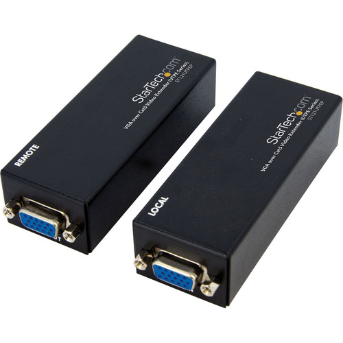 StarTech ST121UTPEP VGA to Cat5 Monitor Extender Kit (Black)