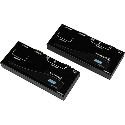 StarTech USB VGA KVM Console Extender over CAT5 UTP