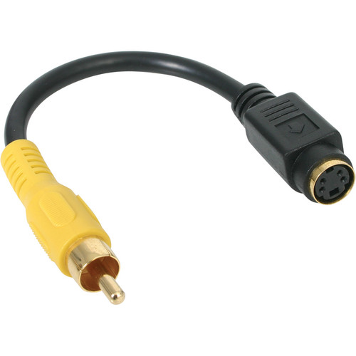 "StarTech S-Video Female to Composite Video Male Adapter Cable (6"")"