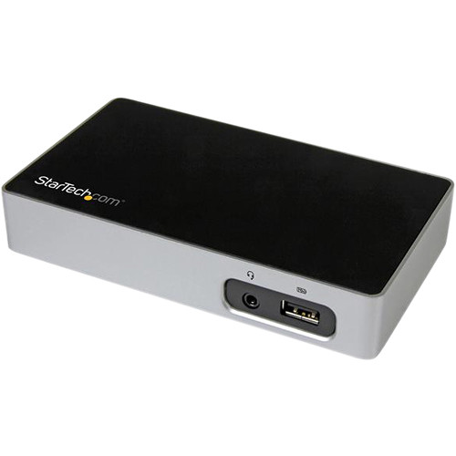 StarTech 4K DisplayPort Docking Station for Laptops
