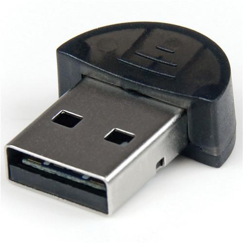 StarTech USBBT2EDR2 Mini USB Bluetooth 2.1 Adapter with Class 2 EDR Wireless Network Adapter (Black)