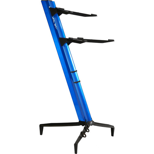 STAY 1300-02 Tower Double-Tier Keyboard Stand (Blue)