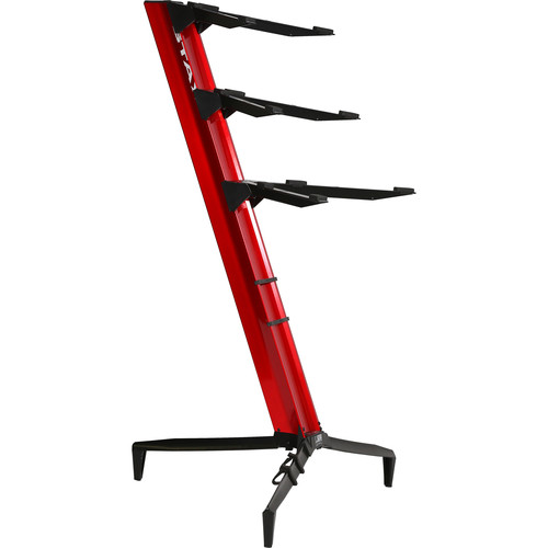 STAY Tower Series 46 Triple-Tier Keyboard Stand (Red)