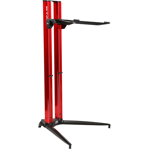 STAY Piano Series 44 Single-Tier Keyboard Stand (Red)