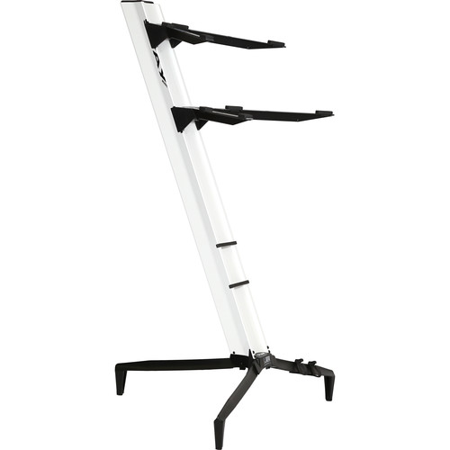 STAY Tower Series 46 Double-Tier Keyboard Stand (White)