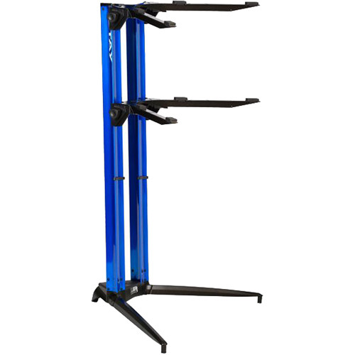 STAY Piano Series 44 Double-Tier Keyboard Stand (Blue)