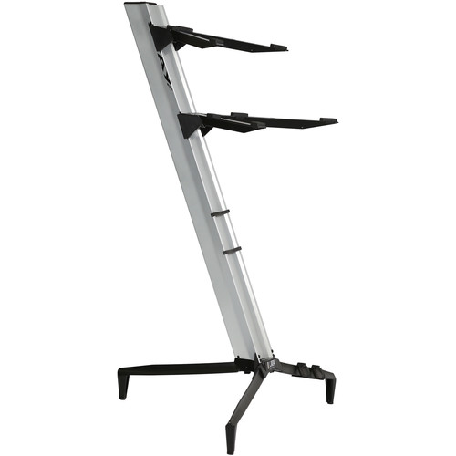 STAY Tower Series 46 Double-Tier Keyboard Stand (Silver)