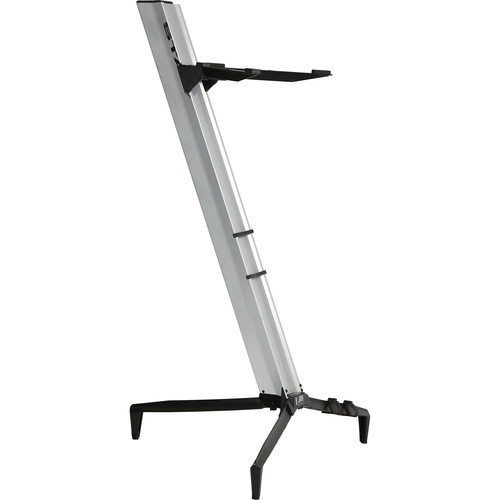 STAY Tower Series 46 Single-Tier Keyboard Stand (Silver)